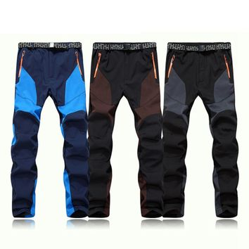 Men's Waterproof/Windproof Mountaineering Pants (3 colors available in sizes to XXL)