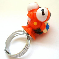 Monsters University Rings - Archie the Scare Pig