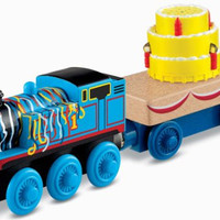 Fisher-Price Thomas the Train Wooden Railway Happy Birthday
