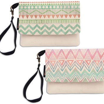 Statement Clutch - Pink and gold purse by VIDA VIDA GJHdb