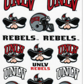 University of Las Vegas Rebels Spirit Stickers Case Pack 24