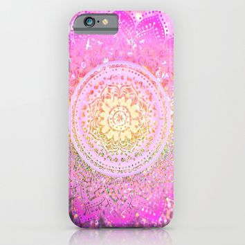 pink mandalas iPhone & iPod Case by Haroulita