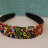 X-Men Comic Headband