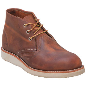 Red Wing Shoes 3137 Classic Chukka Copper Tan Tan Work Boot