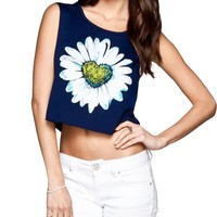 FULL TILT Daisy Womens Muscle Tank