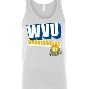 Official NCAA West Virginia University Mountaineers Hail WVU 1867 Unisex Tank - GG03wv