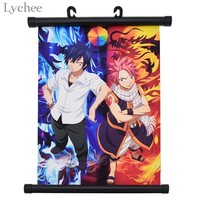 Lychee Japanese Anime Fairy Tail Poster Canvas Scroll Painting Living Room Home Wall Print Modern Art Decor Poster