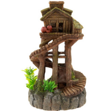 Top Fin Tree House Aquarium Ornament