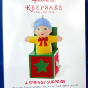 2014 Springy Surprise Hallmark Limited Edition Ornament