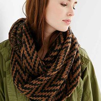 Wooden Ships Zigzag Eternity Scarf- Black Multi One