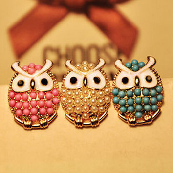 cute owl earrings