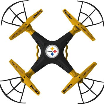 Pittsburgh Steelers Remote Quadcopter Drone