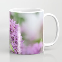 Lilac Bouquets Coffee Mug by Theresa Campbell D'August Art