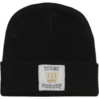 Tupac Men's Trust Knit Beanie Black