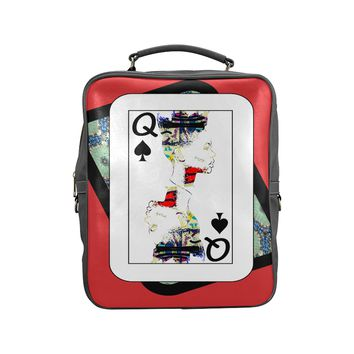 Play Your Hand...Queen Spade No. 1 Backpack