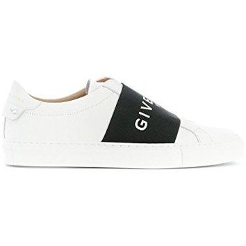 Givenchy Women's BE0005E01Y116 White Leather Slip On Sneakers