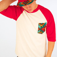 Defyant Aztec Pocket Raglan : Karmaloop.com - Global Concrete Culture