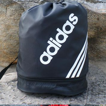 """Adidas""Men and women of mouth draw string backpack to receive the student sports fitn"