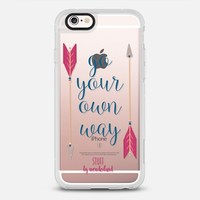 Go Your Own Way Fleetwood Mac Arrows Case iPhone 6s case by STUFFxWonderland | Casetify
