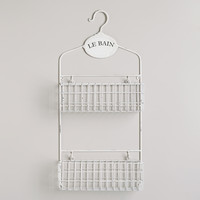 Le Bain Wall Storage Caddy - World Market