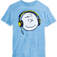 Jem Charlie Brown Headphones T-Shirt