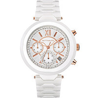 Wittnauer Ladies White Ceramic Chronograph Watch