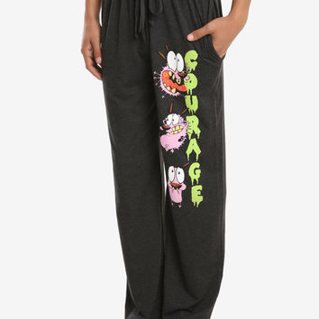 Courage The Cowardly Dog Guys Pajama Pants