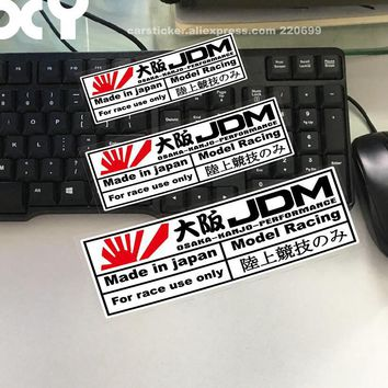 XY Car Stickers for Japanese Style JDM OSAKA Performance Car Motorcycle Sticker Decals Reflective Type Auto Racing Stickers
