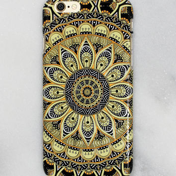 Sunny Floral Print iPhone Case