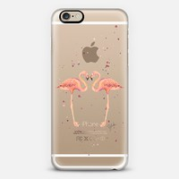 love birds (transparent) iPhone 6s case by Ylfa Grönvold Illustrations | Casetify