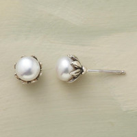 PEARLS IN BUD EARRINGS         -                  Earrings         -                  Jewelry                       | Robert Redford's Sundance Catalog