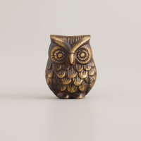 Antique Brass Owl Knobs, Set of 2 - World Market