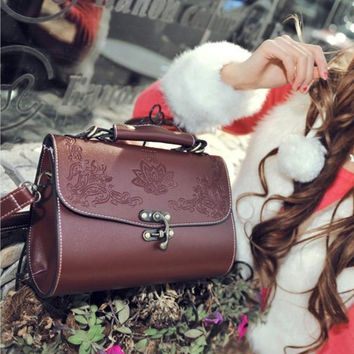 Hot Sale Vintage One Shoulder Bags Tote Bag [6582698887]