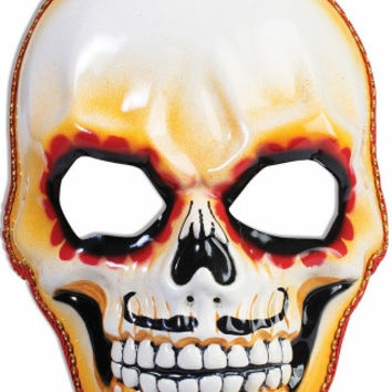 Mens Day of the Dead Skull Mask