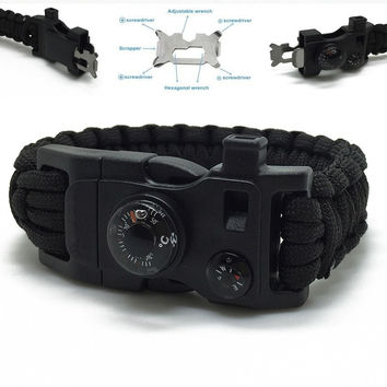 15in1 Outdoor Camping Men Rescue Paracord