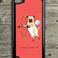 I Pug Love iPod 5 Touch Case