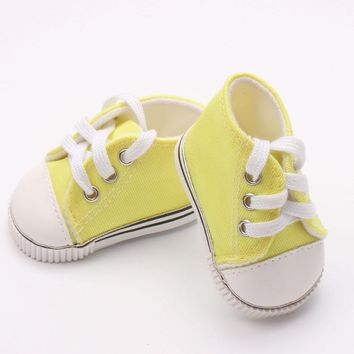 "Doll shoes ,bue sport leisure doll shoes for 18"" inch american girl doll for baby gift TX-20"