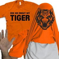 Tiger Flipup Shirt | Flipover Tiger T Shirt