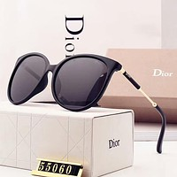 DIOR New Fashion Colorful Polarized Sunscreen Women Eyeglasses Glasses