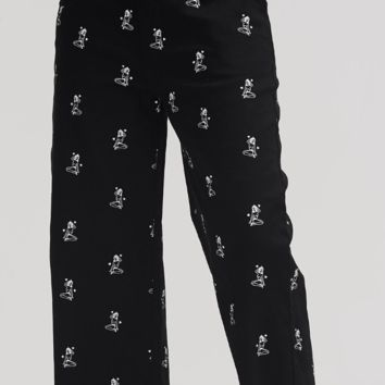 Kita x Lazy Oaf Black Workwear Pants