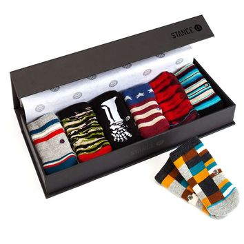 Stance | Baby Gift Box (Boys) Multi, Black, Dark Blue, Red, Orange, Maroon socks | Buy at the Official website Main Website.