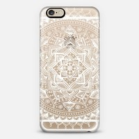 Pretty Lace Mandala Flower (Transparent White) iPhone 6 case by Laurel Mae | Casetify