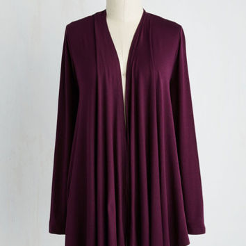 Long Long Sleeve Personal Style Profile Cardigan