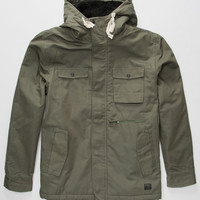 O'neill Adv Nomad Mens Parka Green  In Sizes