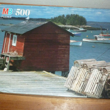 Beals Head Harbor Island, ME 500 Piece Jigsaw Puzzle