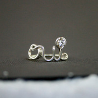 Oui Ring 925 Sterling Silver - with cz