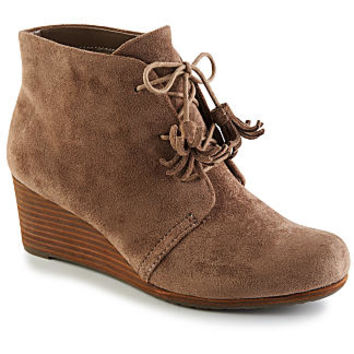 Dr. Scholls Dakota Women's Wedge Bootie (TAUPE)