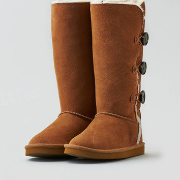 AEO Soft Button Boot, Chestnut