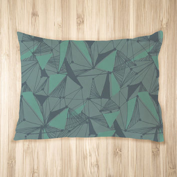 Seamless Geometric Pattern Pet Bed