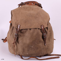 Army 30s Backpack / External Frame Rucksack